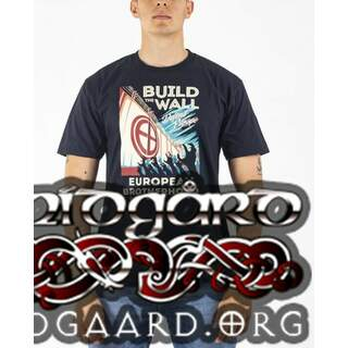 -EBT13 T-Shirt Build the Wall – Black