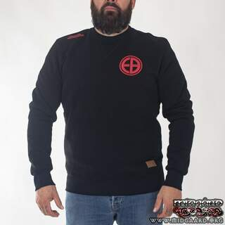 "EBC8 Sweatshirt ""Shield"" – Black"