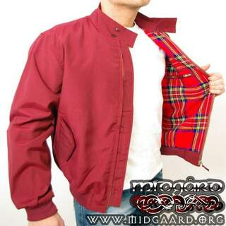 Harrington Jacket red - medium