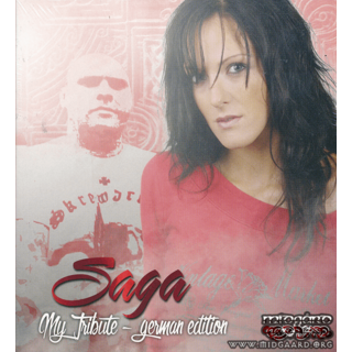 Saga ‎– My Tribute - German edition 2CD