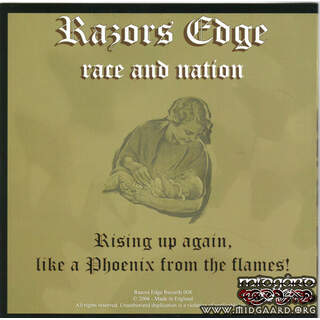 Razors Edge ‎- Race And Nation EP