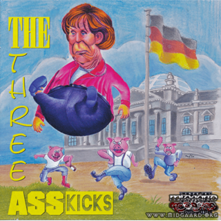 Three Ass Kicks - Hausmannskost / Helle & Die RAC'ker / The White Gigolos