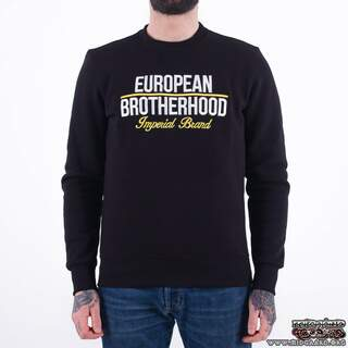 EBC4 Sweatshirt New Imperial brand Black/Yellow