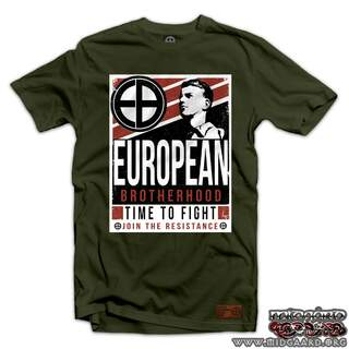 EBT22 Time to Fight - Army Green
