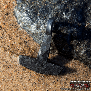 Hand-forged Mjölnir big