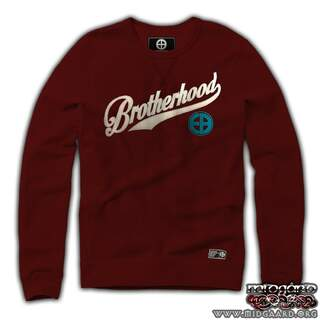 EBC2 Sweatshirt Brotherhood Burgundy