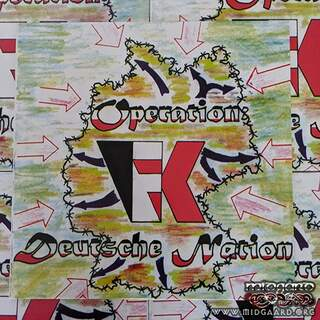 Frontalkraft - Operation Deutsche Nation Vinyl