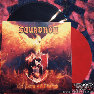 Squadron - The flame still burns Vinyl