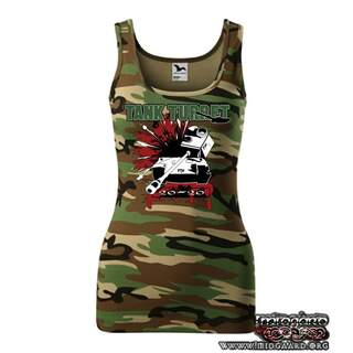 Ladies Tank Turret Rocker Tank Top