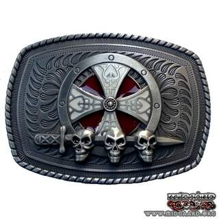 Belt buckle nordic shield II