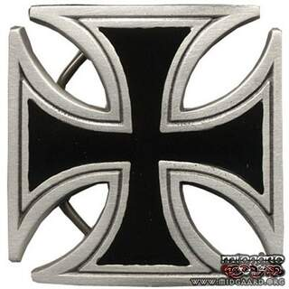Belt buckle Iron cross