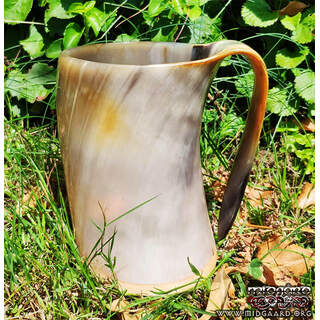 Horn cup rustic