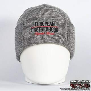 EB Beanie Imperial Brand – Light Grey