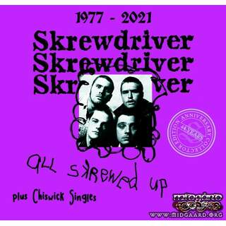Skrewdriver - All skrewed up + Chiswick Singles 44 years Edition - Digi