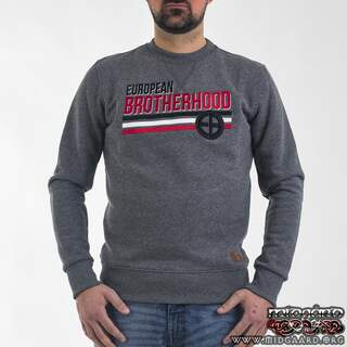 "EBC7 Sweatshirt ""Nation"" – Grey"