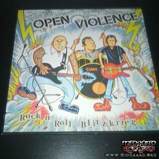 Open Violence – Rock 'N' Roll Blitzkrieg (LP)